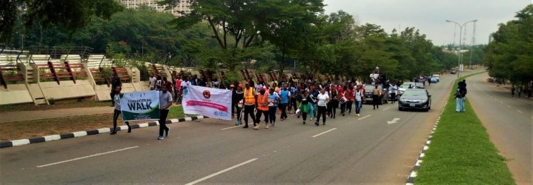 Walk for Pads #1millionpadscampaign