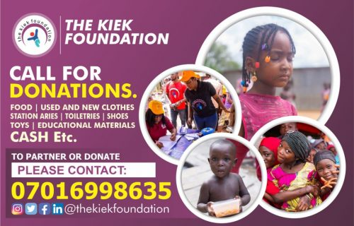 Donate to the KIEK foundation