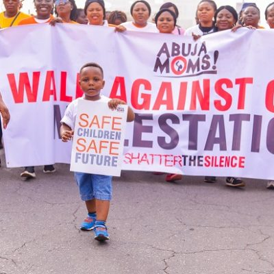 KIEK and Abuja Mums walk against CM (3)