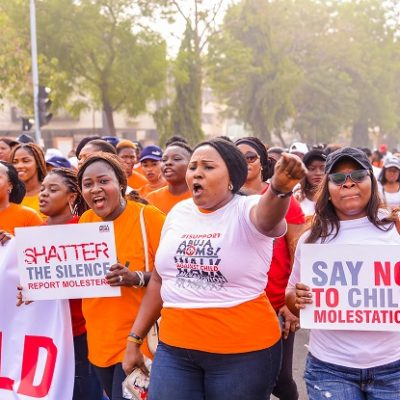 KIEK and Abuja Mums walk against CM (4)
