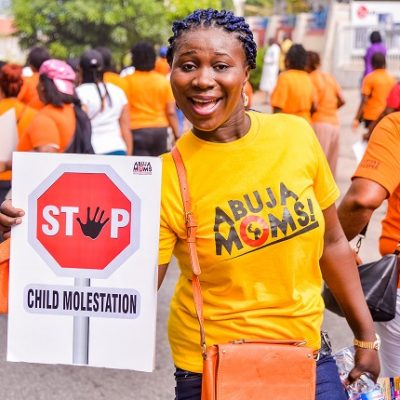 KIEK and Abuja Mums walk against CM (7)
