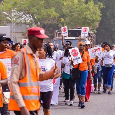 KIEK and Abuja Mums walk against CM (8)