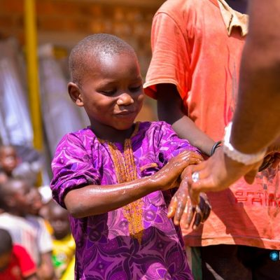 Kiek Foundation IDP camp visit cover